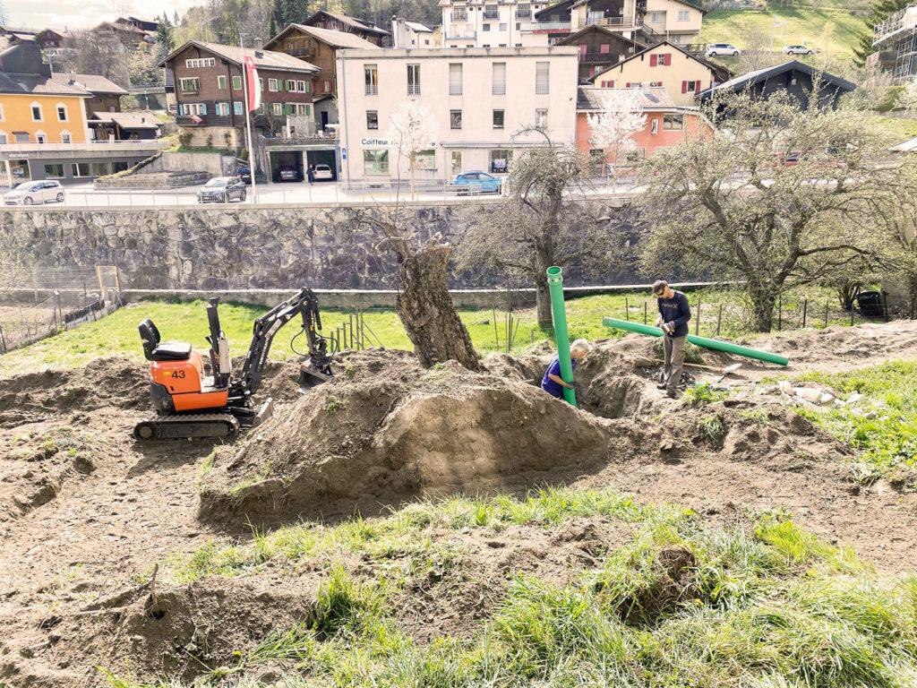 Umbau Garten Edelskull du Glacuer