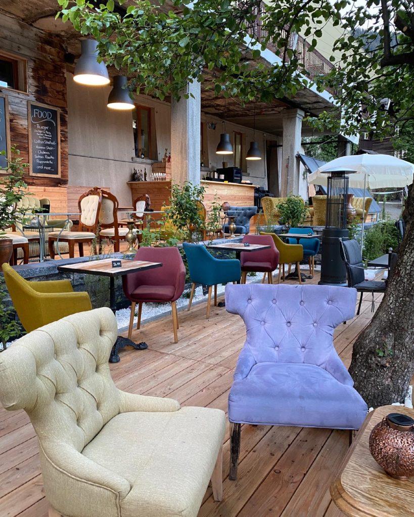 Die Edelskull Garten Lounge ist täglich offen