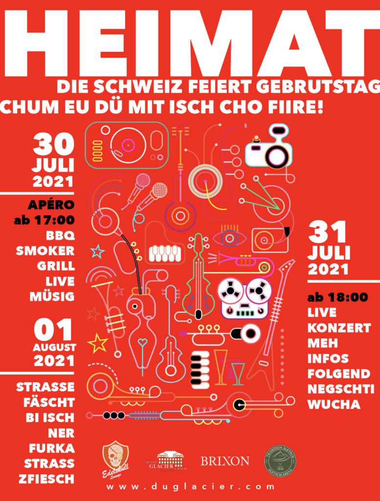HEIMAT – Die Schweiz feiert Geburtstag